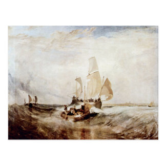 Now For The Painter Passengers To Board By Turner Postcard