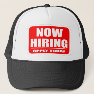Now Hiring Trucker Hat