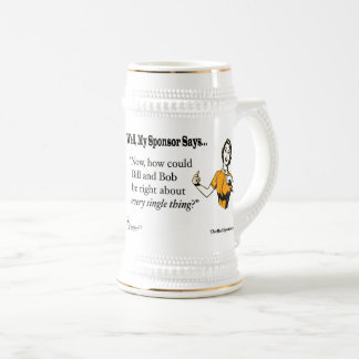 Now, how could Bill and Bob be right about every Beer Stein