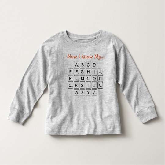 Now I know My... Toddler T-shirt