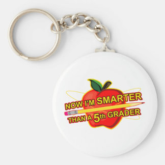 Now I'm Smarter Than a 5th Grader Keychain