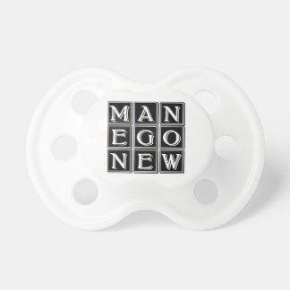 Now new man pacifier