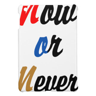Now or Never Case For The iPad Mini