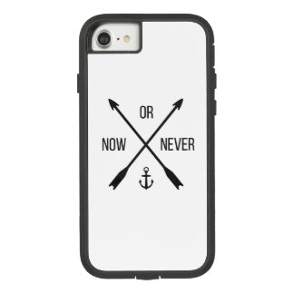 Now or never - Inspiring Iphone Case