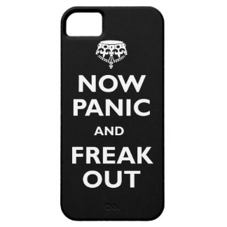 Now Panic And freak Out iPhone 5 Cover