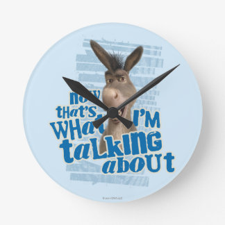 Now That's What I'm Talking About! Wall Clocks