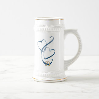 now we are one beer stein