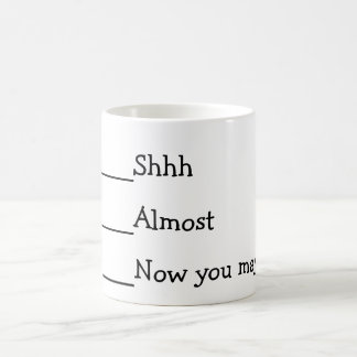 Now you may speak funny meme coffee mug