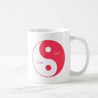 Now & Zen Magenta Coffee Mug