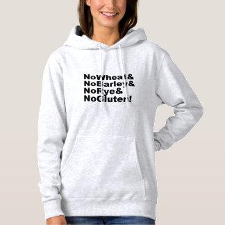 NoWheat&NoBarley&NoRye&NoGluten! (blk) Hoodie