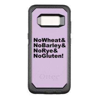 NoWheat&NoBarley&NoRye&NoGluten! (blk) OtterBox Commuter Samsung Galaxy S8 Case