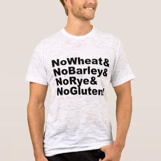 NoWheat&NoBarley&NoRye&NoGluten! (blk) T-Shirt
