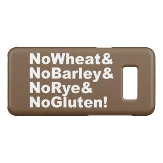NoWheat&NoBarley&NoRye&NoGluten! (wht) Case-Mate Samsung Galaxy S8 Case