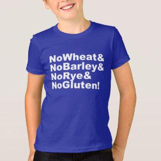 NoWheat&NoBarley&NoRye&NoGluten! (wht) T-Shirt