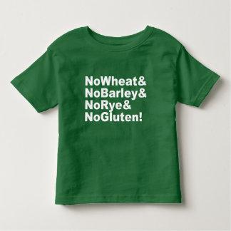 NoWheat&NoBarley&NoRye&NoGluten! (wht) Toddler T-shirt