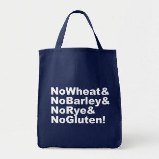 NoWheat&NoBarley&NoRye&NoGluten! (wht) Tote Bag