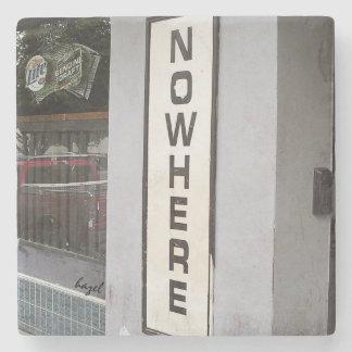 Nowhere,Athens, Georgia,Marble Stone Coaster. Stone Coaster