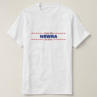 NOWRA - My Home - Australia; Red & Pink Hearts T-Shirt