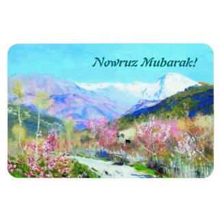 Nowruz Mubarak. Persian New Year Gift Magnets