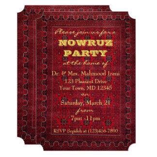 Nowruz Party Invitation