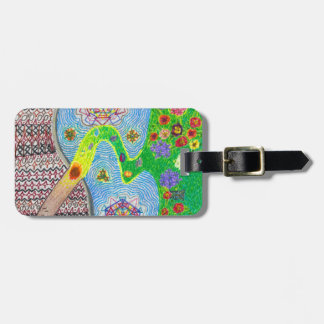 Nowruz Spring and Life Renewal Luggage Tag