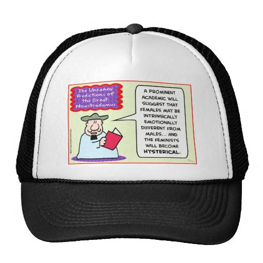 NOWSTRADAMUS feminists hysterical Mesh Hats