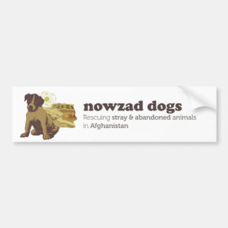 Nowzad Dogs Bumper Sticker
