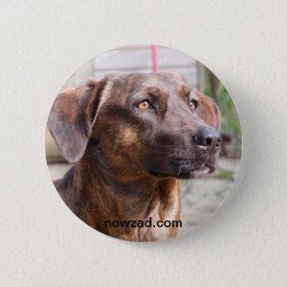 Nowzad Rescue Dog Brin Badge 2 Inch Round Button