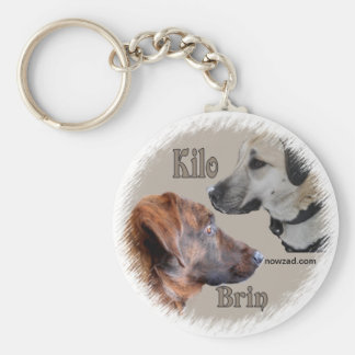 Nowzad Rescue Dogs Brin & Kilo Keyring