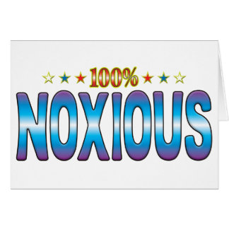 Noxious Star Tag v2 Greeting Card