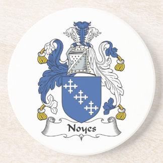 Noyes Family Crest Coaster