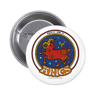 NP Aries 2¼ Inch Round Button