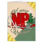 NP CHRISTMAS Nurse Practitioner Card