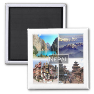 NP * Nepal Magnet