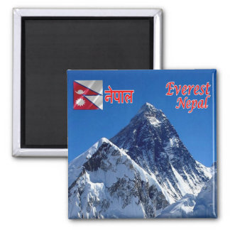 NP - Nepal - Mount Everest Magnet