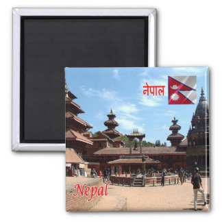 NP - Nepal - Patan temples Magnet