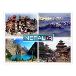 NP Nepal - Postcard