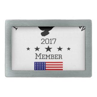 NPA Member Logowear Rectangular Belt Buckle
