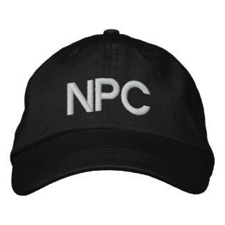 NPC EMBROIDERED HAT