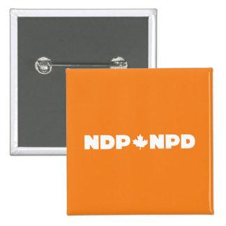 NPD Logo 2 Inch Square Button