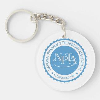 NPTA Round Key Chain