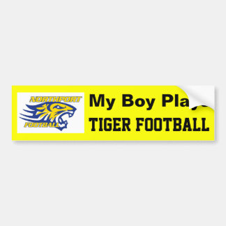 NPYFC My Boy Plays Bumper Sticker