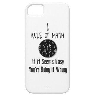 Nr 1 rule of Math Case For The iPhone 5
