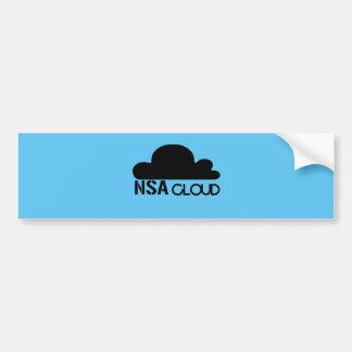 NSA in the Cloud Bumper Stickers