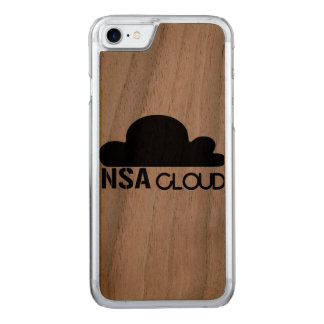 NSA in the Cloud Carved iPhone 8/7 Case