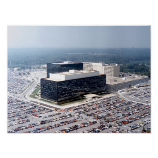 NSA National Security Agency Poster