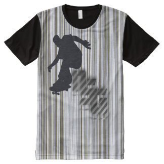 #NSG new Skater generation T-shirt with wood