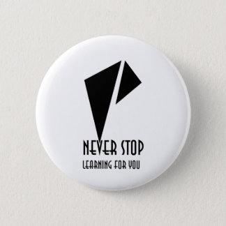 NSLFY, 2¼ Inch Round Button