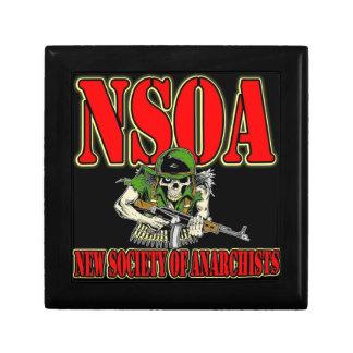 NSOA Army Skull logo Gift Box