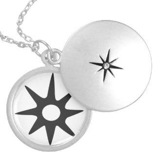 NSOROMMA   Symbol of Guardianship Locket Necklace